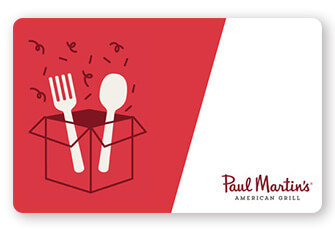 Paul Martin's Gift Cards