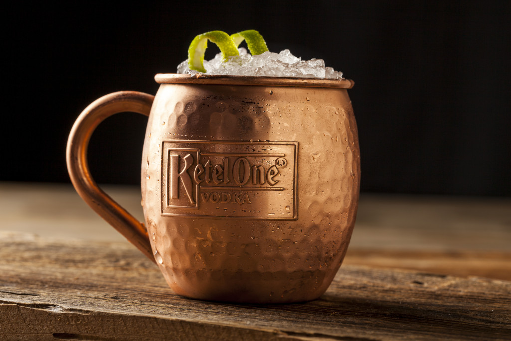 Ketel One Moscow Mule from Paul Martin's American Grill #paulmartinsag