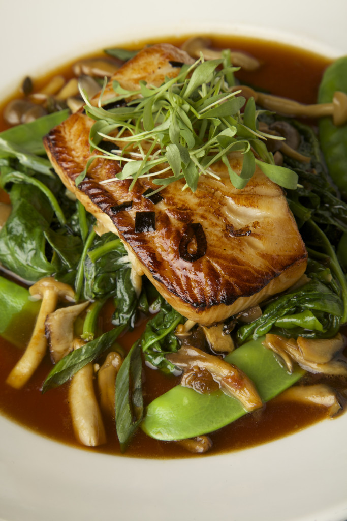 Black Cod for Valentine's Day at Paul Martin's American Grill!