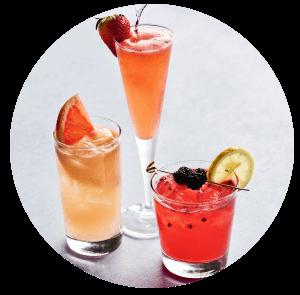 Three Brunch Drinks